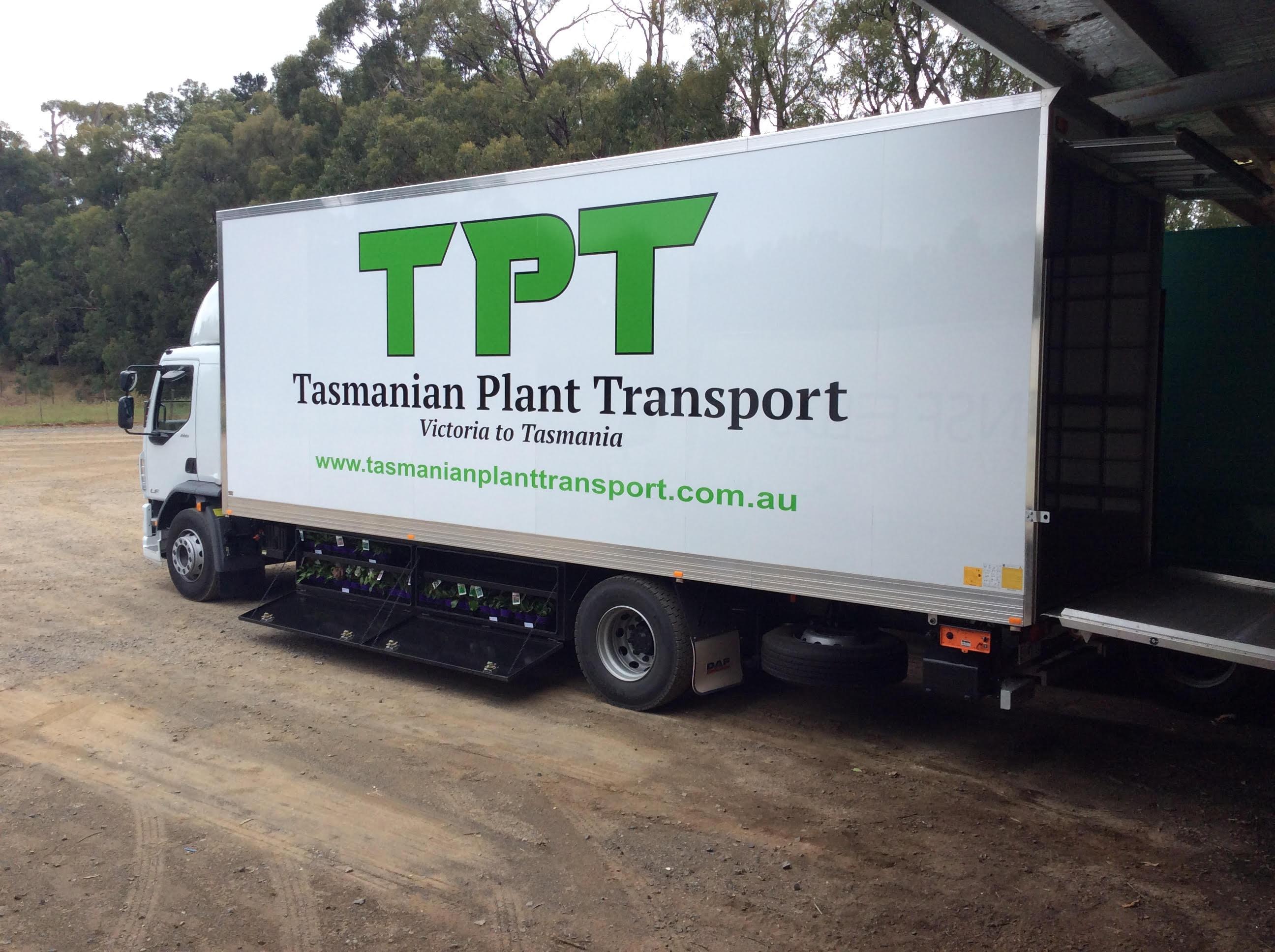 Tasmanian Plant Transport truck.